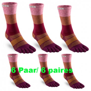 6 Paires Trail Midweight...