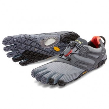 Outlet Vibram Fivefingers V-Trail M Grey/Black/Orange - FF17M6902
