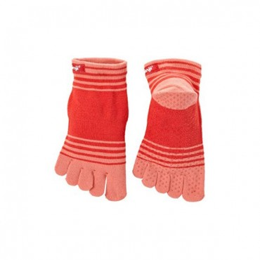 Injinji Chaussettes Injinji Zehensocken Yoga Original Weight Micro Coral - 072230